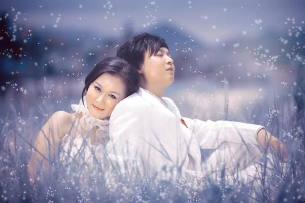 ps调色-打造梦幻婚纱照