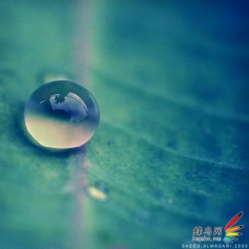 摄影攻略:水滴世界的震撼