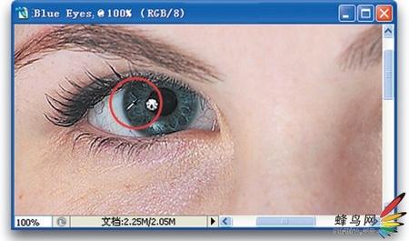 ps美容-让眼睛变美丽