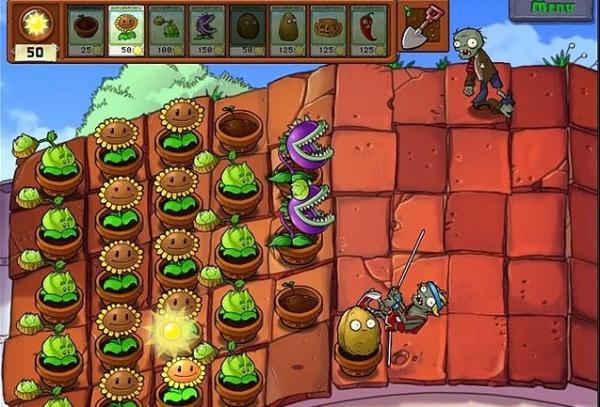《植物大战僵尸》第五关游戏攻略