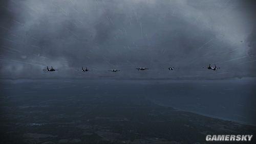 《皇牌空战7:突击地平线》流程攻略第十五关:Hurricane(飓风)