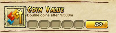 《神庙逃亡2》道具作用介绍之Coin Value
