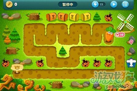《保卫萝卜》挑战主题第31关金萝卜攻略