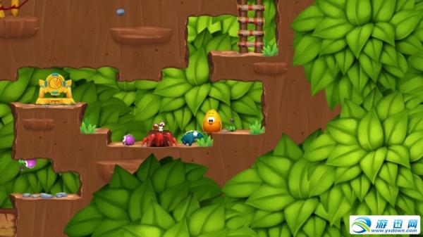 《小鸡快跑2》橘子林攻略