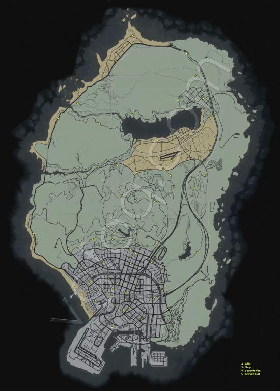 《侠盗猎车手5》蓝点随机任务详细攻略