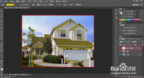 Photoshop为照片制作油画风格