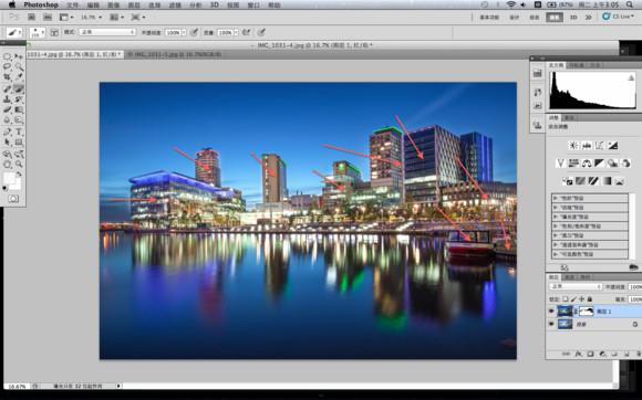 用Photoshop几招打造轻HDR效果