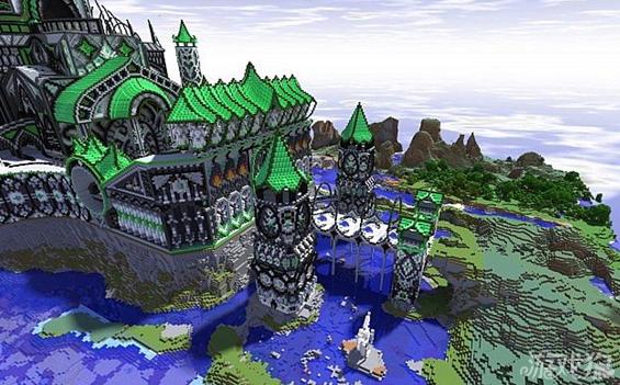 《我的世界》绿色城堡介绍及分享