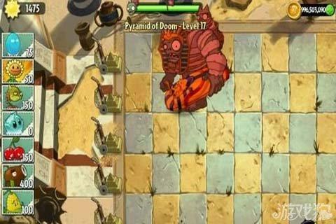 《植物大战僵尸2》影像坚果底座亲测是否无敌