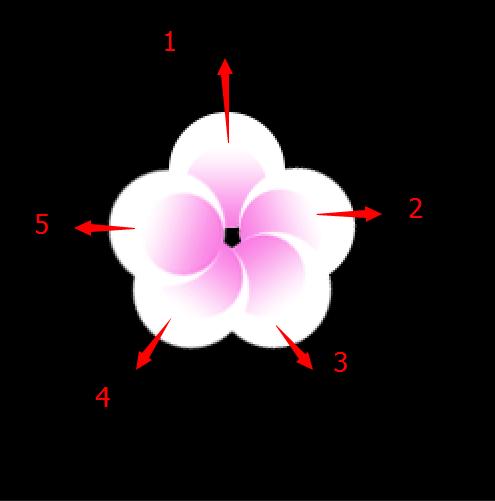 七夕节用PS创建清新雅致的樱花效果字体