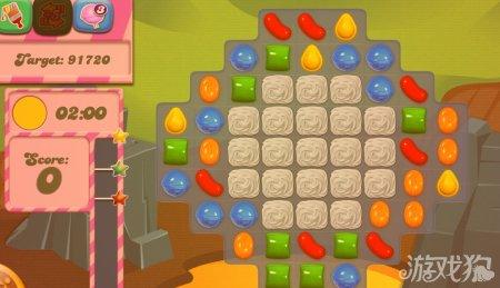 《糖果粉碎传奇Candy Crush Saga》31,32,33,34,35关过关攻略