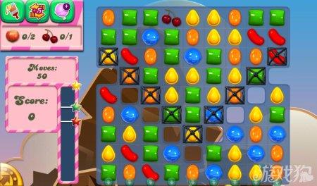 《糖果粉碎传奇Candy Crush Saga》41,42,43,44,45关过关攻略