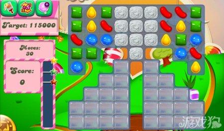 《糖果粉碎传奇Candy Crush Saga》66,67,68,69,70关过关攻略
