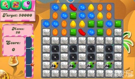 《糖果粉碎传奇Candy Crush Saga》115,116,117关过关攻略