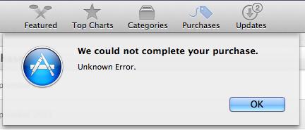 "Mac App Store出现""未知错误""怎么办"