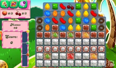 《糖果粉碎传奇Candy Crush Saga》186,187,188关过关攻略