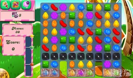 《糖果粉碎传奇Candy Crush Saga》189,190,191关过关攻略