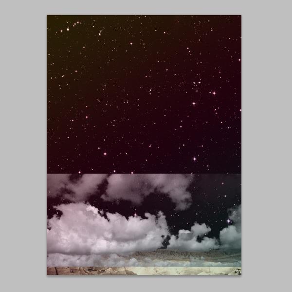 用PS制作复古风格的行星景观海报