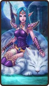 《刀塔传奇》可以考虑卡在紫四的一些英雄