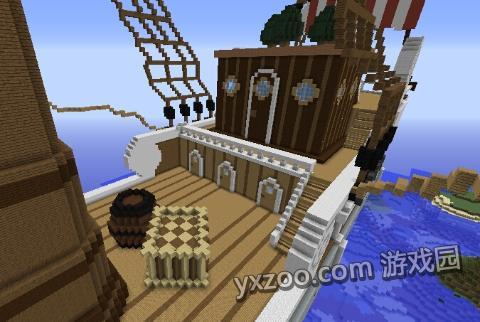 《我的世界》优秀作品欣赏 各种炫酷船只教程