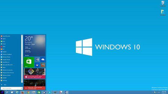 针对普通用户 Windows10浏览版近期发布
