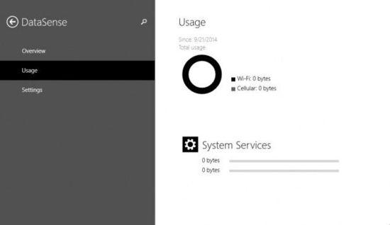 Windows 10 Build 9860新功能:Data Sense数据流量统计
