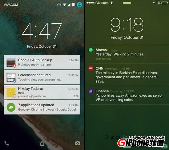 iOS8.1与安卓5.0哪个好_iOS8.1与安卓5.0对比分析