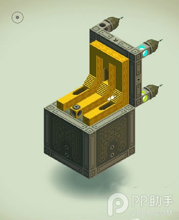 《纪念碑谷》原版第八关:箱子攻略
