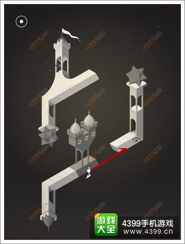 《纪念碑谷》被遗忘的海岸第六关:幻象城堡攻略