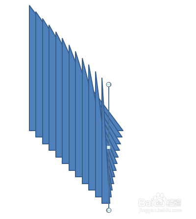 ppt如何画一个轴对称图形的旋转动画