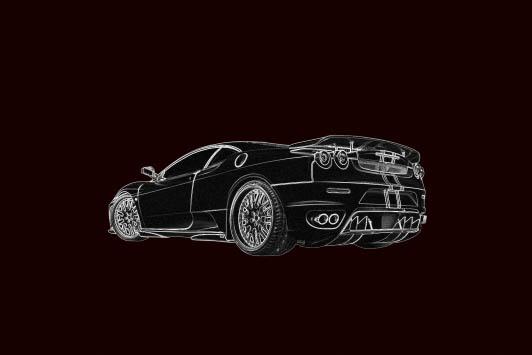 ps酷炫教程:制作超酷的火焰汽车