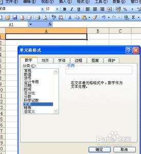 Excel输入0开头数字不显示怎么办