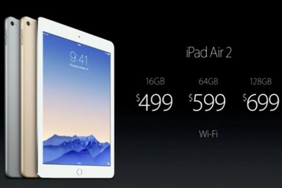 全网通版ipad air2什么时候可以买到