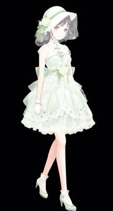 《暖暖环游世界》谷雨套装单品欣赏 仙仙的感觉
