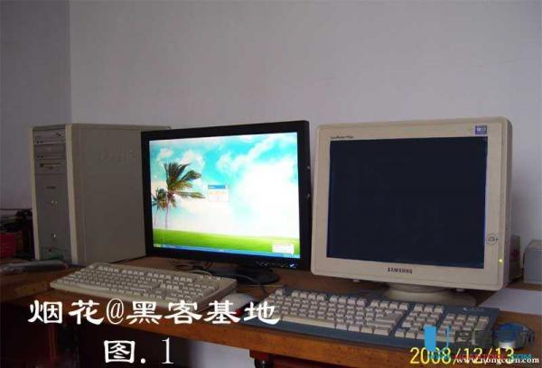 一台电脑两个显示器的设置方法