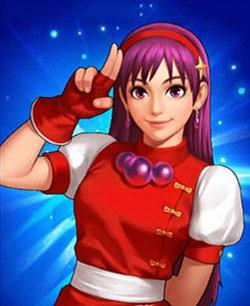 《拳皇98终极之战OL》格斗家麻宫雅典娜攻略