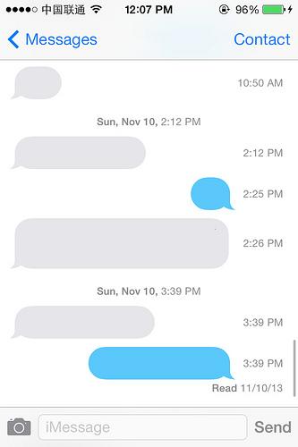 iPhone怎么查看短信具体收发时间