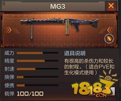 CF手游《穿越火线:枪战王者》mg3怎么样 多少钱 值得买不