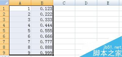 在Excel中如何将一组数据绘制成图标