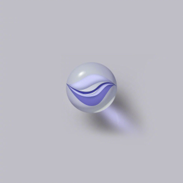 ps怎么做玻璃质感珠子?透明玻璃弹珠制作教程