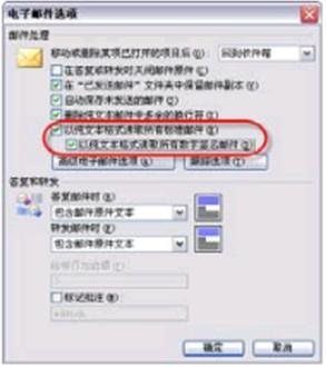 小方法,大道理!限制Outlook Express邮件的阅读方式