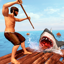 木筏求生-饥饿鲨
