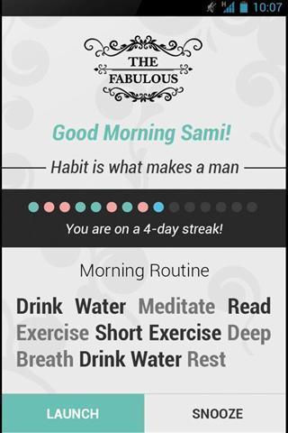 健康日常习惯