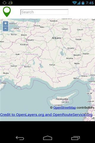 GPS地图软件截图2